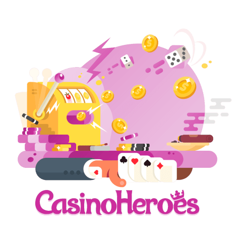 casino heroes Spielangebot Illustration